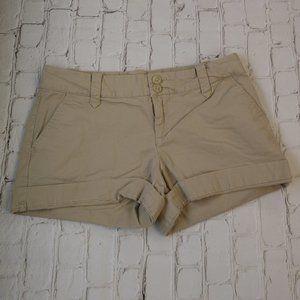 Tommy Hilfiger Women Tan Shorts Size 4